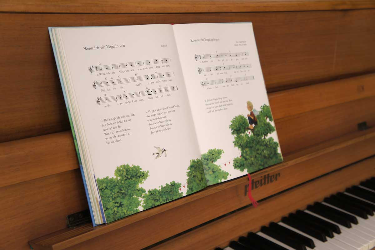 Klavier im Klangraum